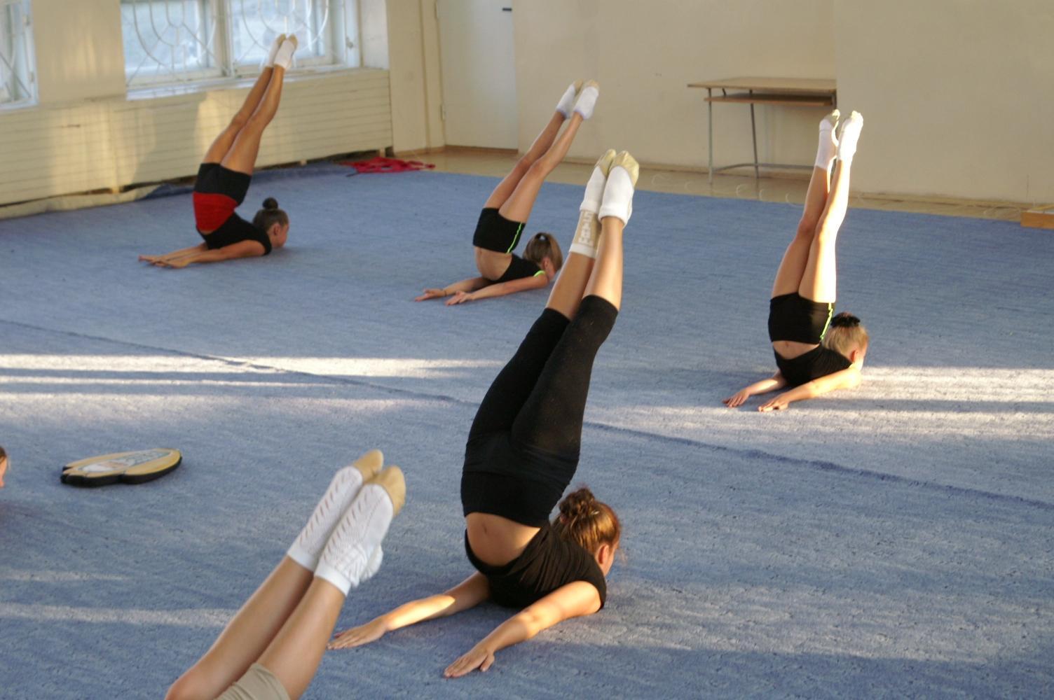 Фото худые гимнастки 19 фотография