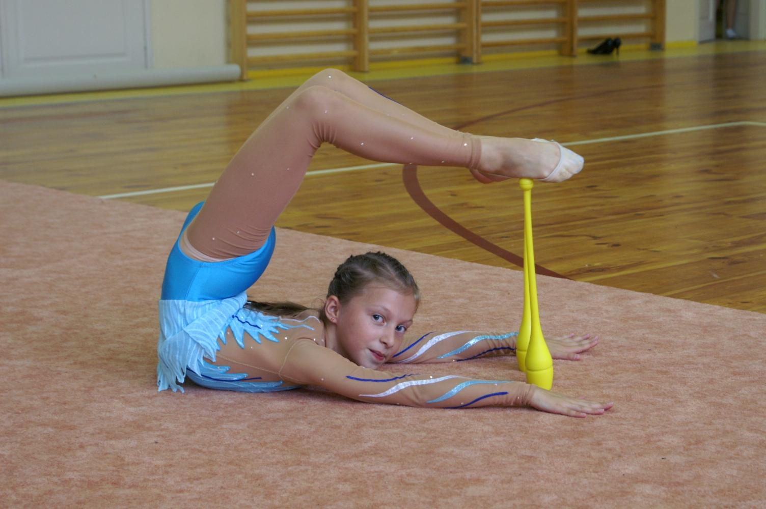 Гимнастки в домашних условиях